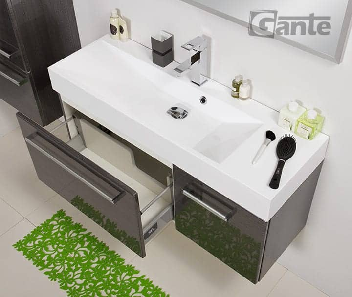 vanity unit 106cm