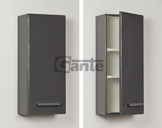 grey cabinet 30 cm
