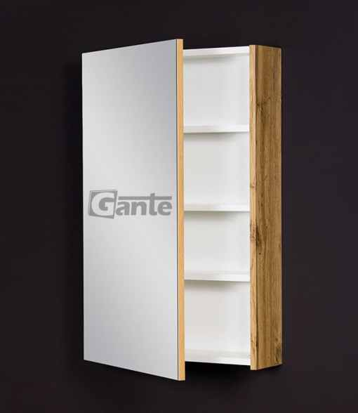 bathroom cabinet with mirror Oak
