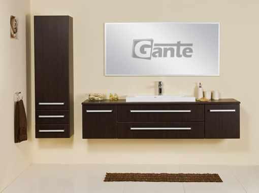 Vanity unit 180cm wenge