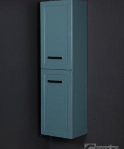 Tall storage unit blue