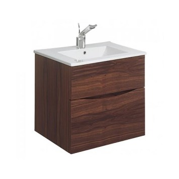 bauhaus walnut vanity unit 500