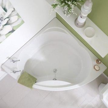 milano corner bath