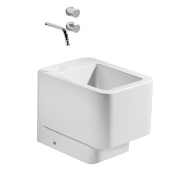 Roca Element Back to Wall Bidet