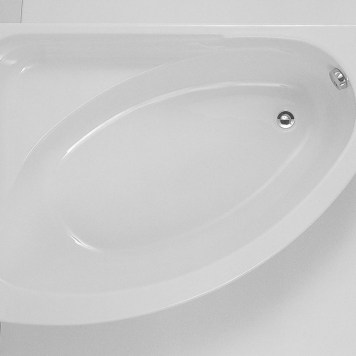 Trieste Supercast Corner Bath 0TH - 1495 x 1010mm