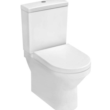 Vitra S50 Compact Close Coupled Fully Back to Wall Toilet Pan
