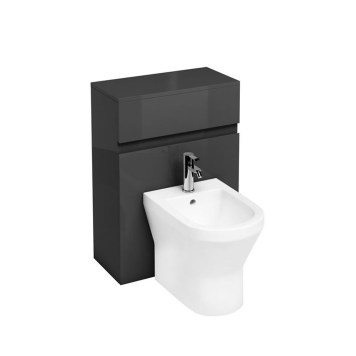 Britton Anthracite Grey Back To Wall Bidet Unit