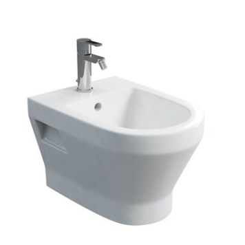 Britton Curve Wall-Hung White Bidet