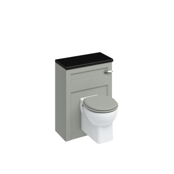 Burlington Classic Back To Wall Toilet Unit & Cistern Olive - 600mm