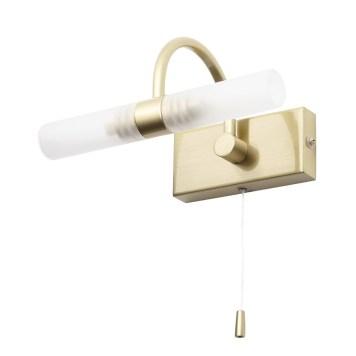 Crista Bathroom Wall Light - Satin Brass