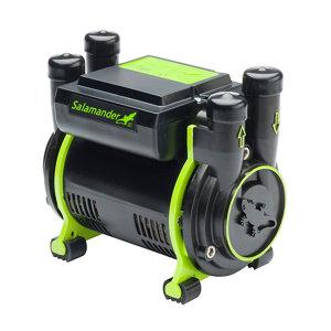 Salamander Pumps Twin 2 bar Shower pump (H)160mm (W)120mm (L)185mm