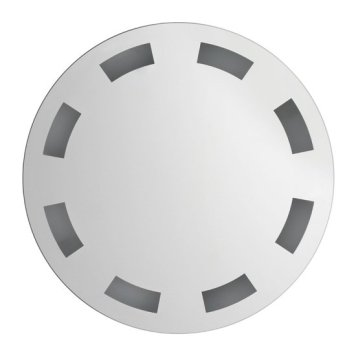 Arcant Wall Round Batroom Mirror With LED Lights