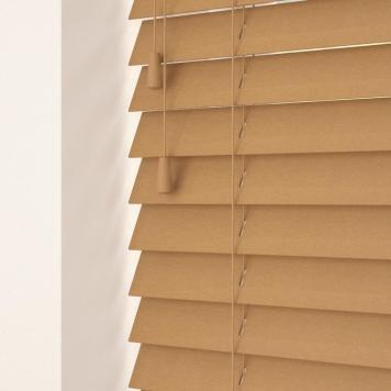 50mm Primary Wood Venetian Blinds Medium Oak