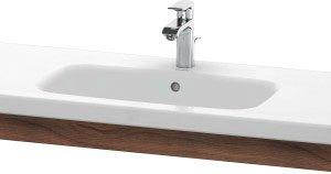 Duravit DuraStyle Washbasin Trim – 1130mm Wide – Natural Walnut