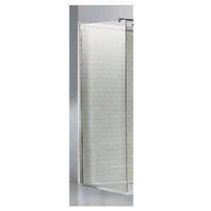 Eastbrook Corniche easy clean side panel – 760mm Wide – Silver