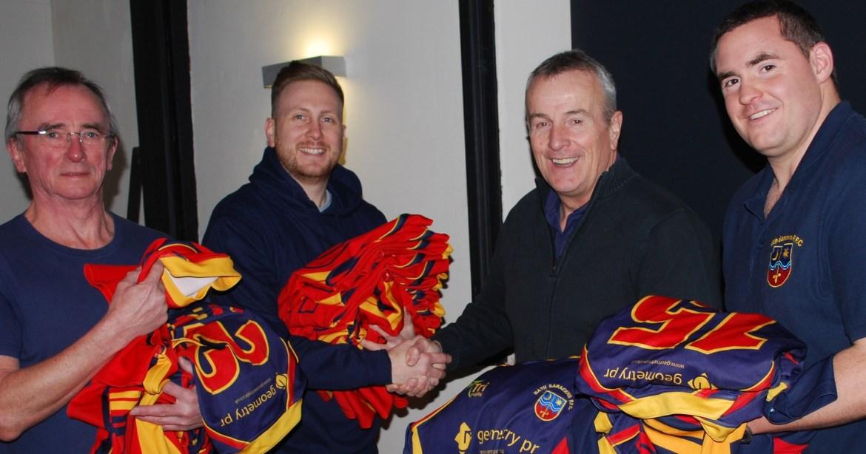 Sarries donate old kit to SOS Kit Aid