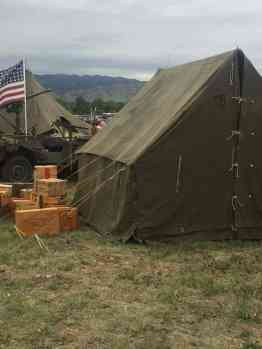 Vintage WWII Tent