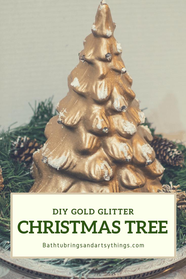 DIY Glam christmas tree