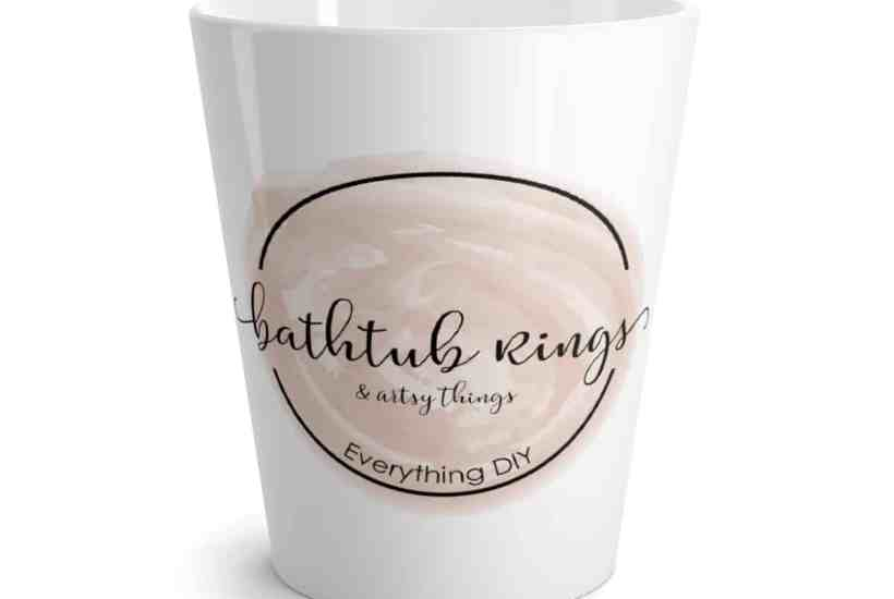 bathtub rings coffee mug