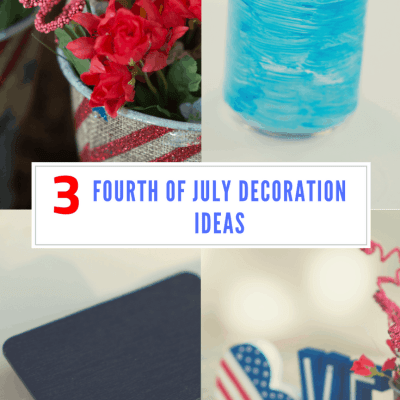 3 DIY Easy and Cheap Fourth of July Decorations to Rev up your Party