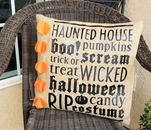 These 10 Amazing Halloween Cricut Projects will have your house Halloween ready in no time! Use a Cricut to make your Halloween decorating a breeze!