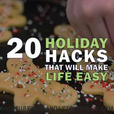 The holidays are here! These awesome holiday hacks will save you time, money and sanity! Get ready to have the easiest Christmas ever!