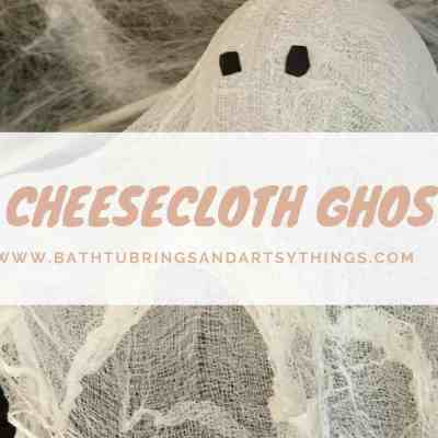 Halloween Kids Craft: How to Create a Halloween Cheesecloth Ghost