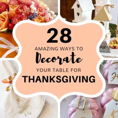 28 Amazing ways to Decorate your Table for Thanksgiving: Easy Thanksgiving Centerpieces