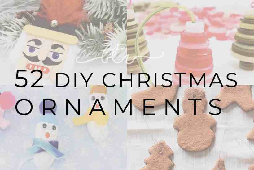 handmade Christmas ornaments that you can make at home for Christmas