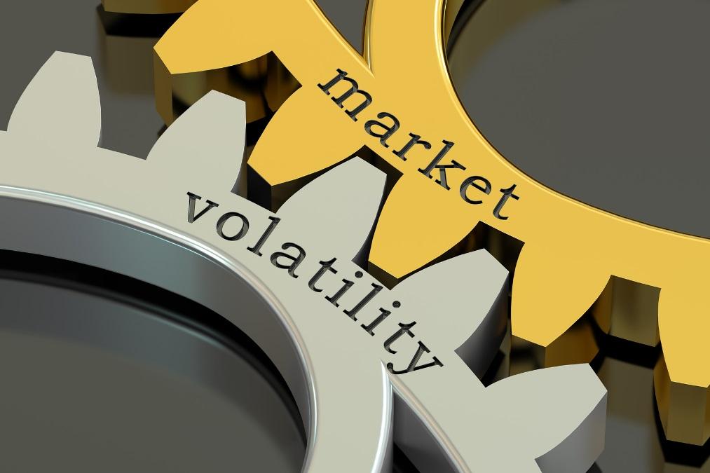 Market Volatility concept, 3D rendering