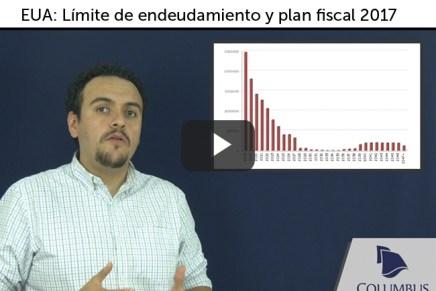 Video de Guía Económica y de Mercados; EUA: Límite de endeudamiento y plan fiscal 2017