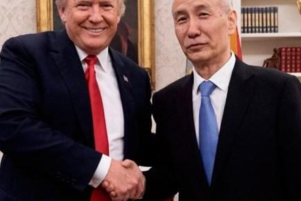 Top del día: Siguen las sonrisas en negociación EUA-China