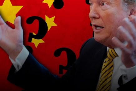 Cierre: Trump mañana sostendrá una conferencia relacionada a  China