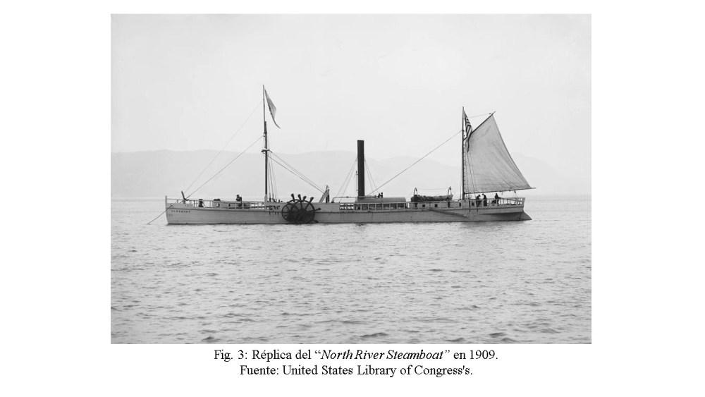 Los primeros pasos de la navegación a vapor (3/6)