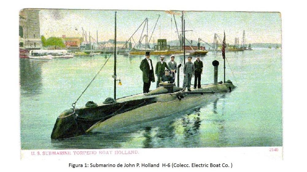 El Isaac Peral (A-0), primer submarino de la Flotilla (1/6)