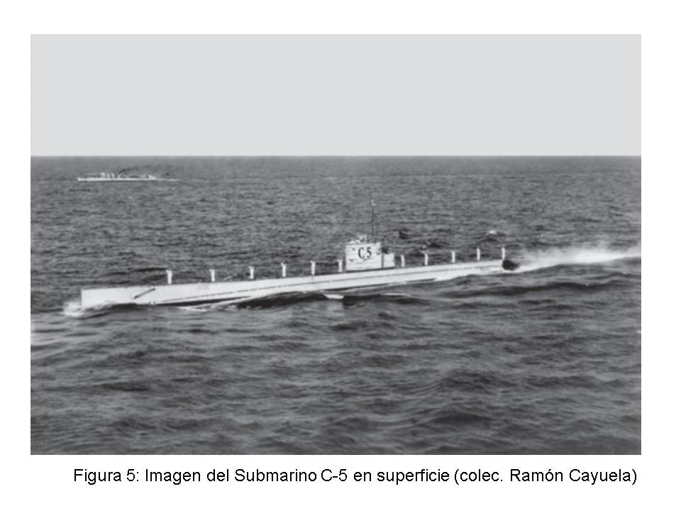 La pérdida del submarino C-5 y D. José María de Lara (5/6)