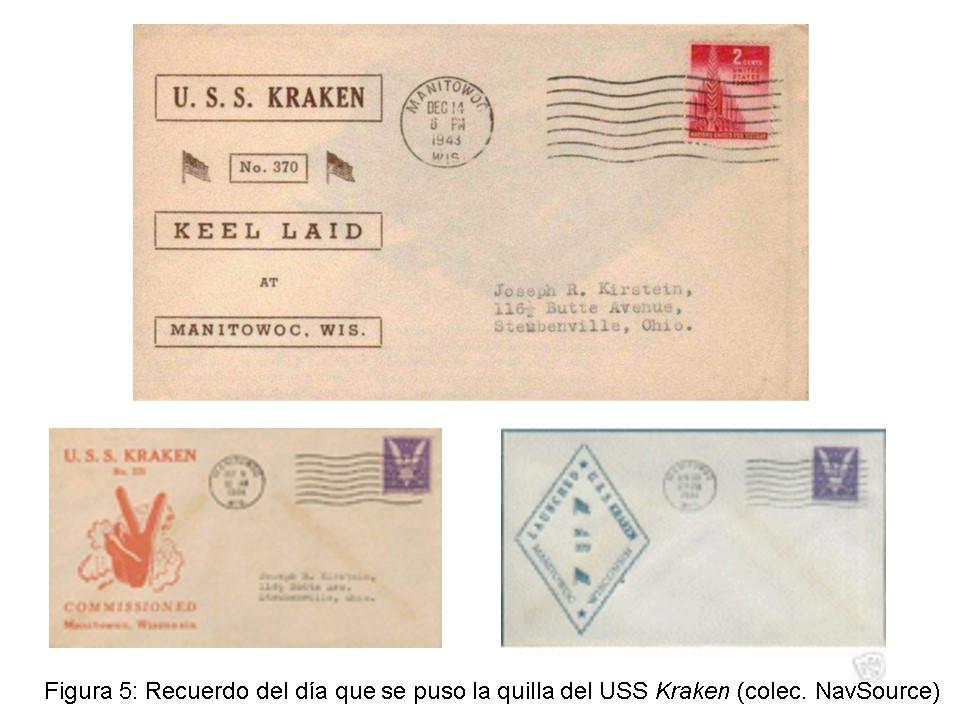 Historia de un submarino norteamericano que después fue español, el USS. Kraken (5/6)