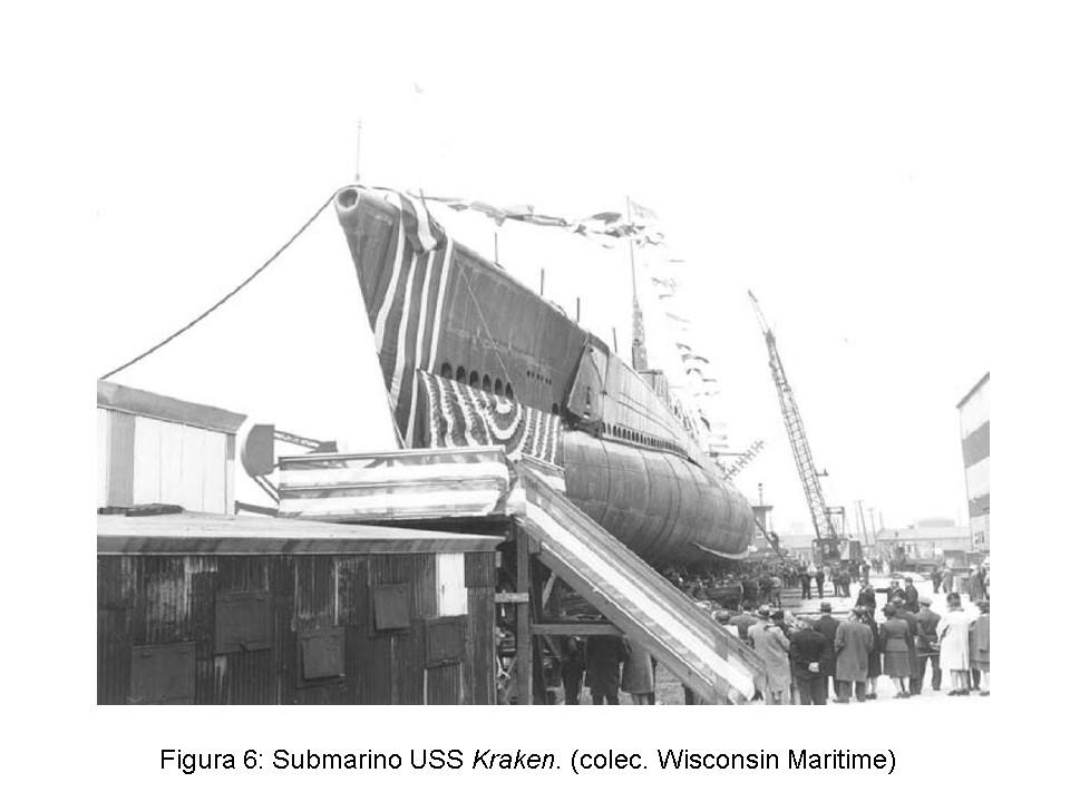 Historia de un submarino norteamericano que después fue español, el USS. Kraken (6/6)