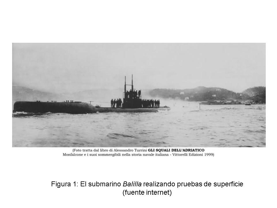 Historia de un submarino italiano que pudo ser español, el U-42 o Balilla. (1/6)