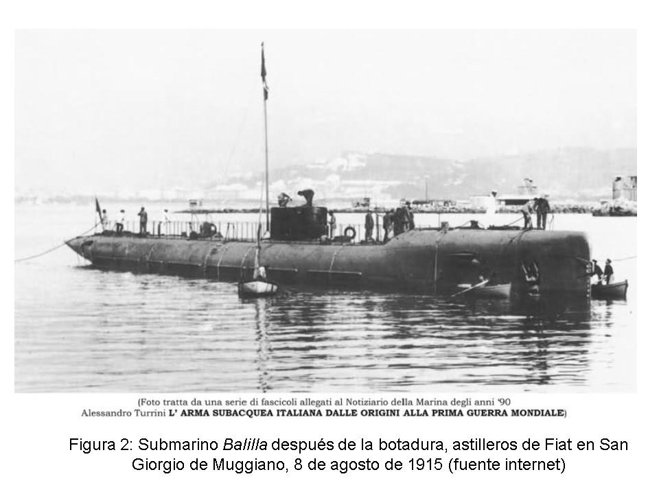 Historia de un submarino italiano que pudo ser español, el U-42 o Balilla. (2/6)