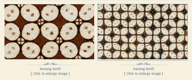 Batik yogyakarta klasik Motif Kawung