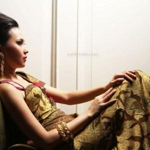 model baju batik terusan