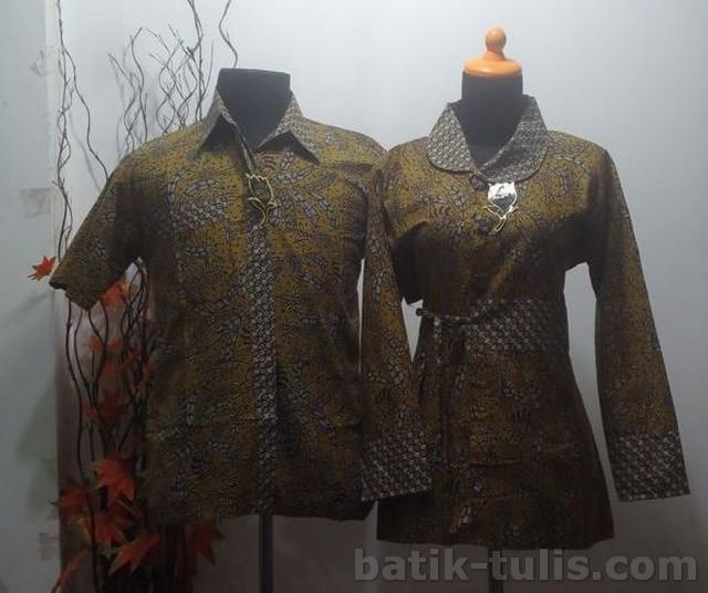 batik sarimbit blouse kombinasi