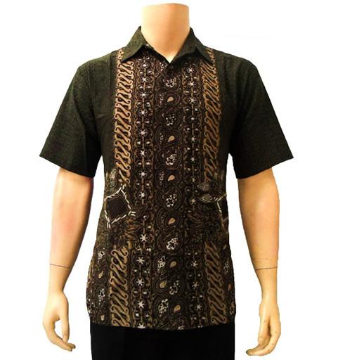 3 Model Kemeja Batik Dewasa Pria dan Wanita Terbaru 2017