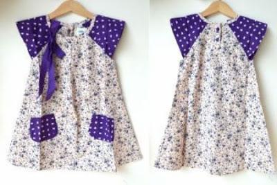 Model Baju Batik Anak Terbaru 2017