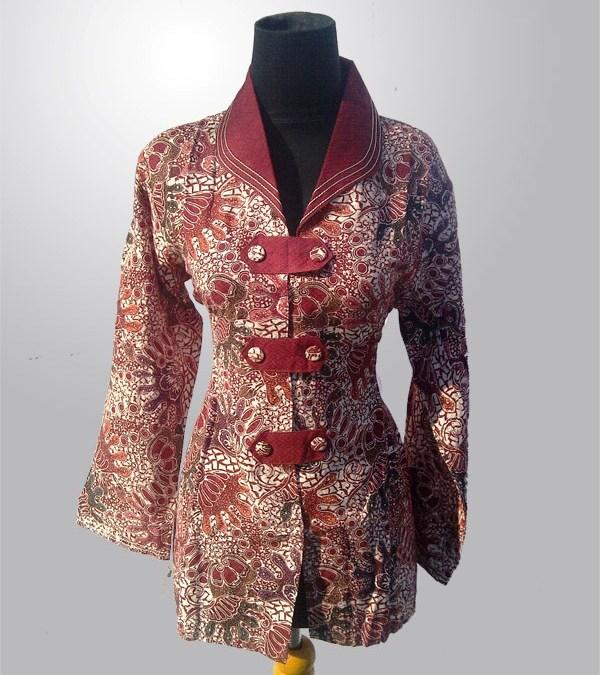 Model Baju Batik Kerja untuk Wanita yang Praktis dan Nyaman