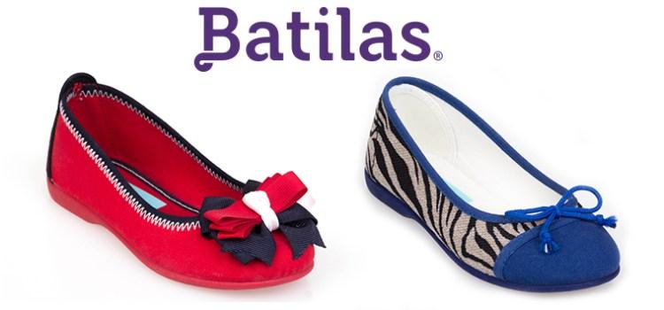 Bailarinas, Manoletinas, Merceditas,  y Francesitas para niña de Batilas