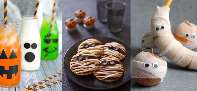 Cuatro recetas para un halloween con niños