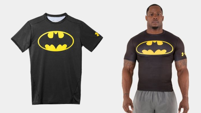 Tidssvarende Batman and Superhero T-shirts available now from Under Armour IK-96
