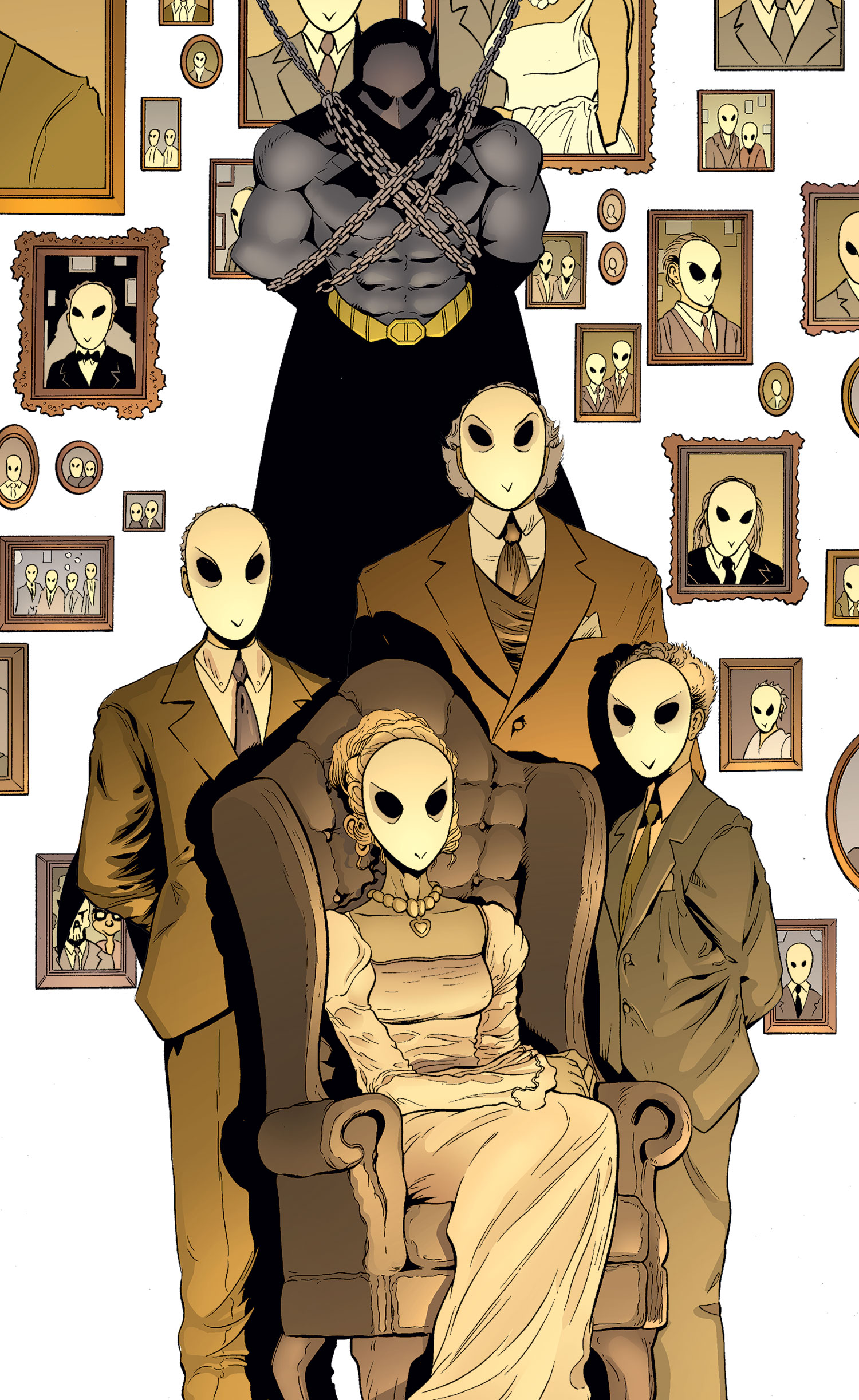 Batman And Robin 23 2 The Court Of Owls 1 Review Batman News